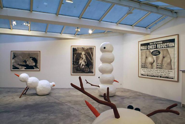 Ateliers Artigo Paris - LE GRAND BLANC - OLAV WESTPHALEN 2006 Techniques mixtes - Galerie Vallois - Paris